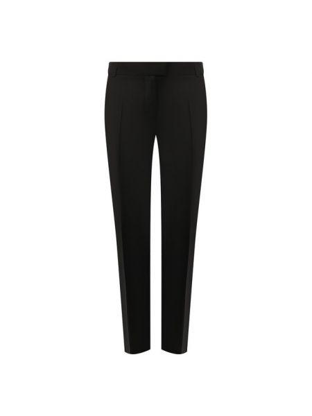 Черные со стрелками брюки с воротником для офиса Paul&joe