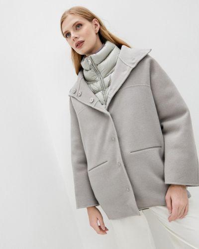 Серое зимнее пальто Add