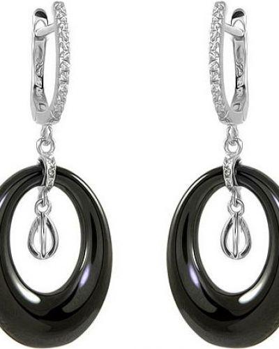 Серебряные серьги из серебра Evora