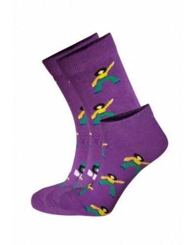 Носки набор фиолетовый Bb Socks