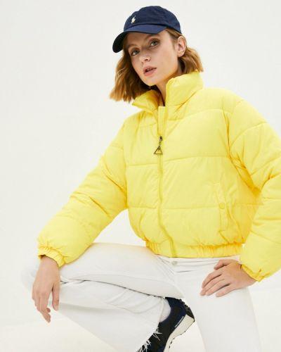 Желтая зимняя куртка Fresh Cotton