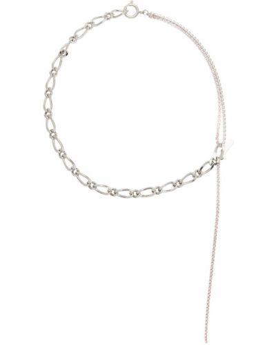 Naszyjnik łańcuch - różowy Justine Clenquet