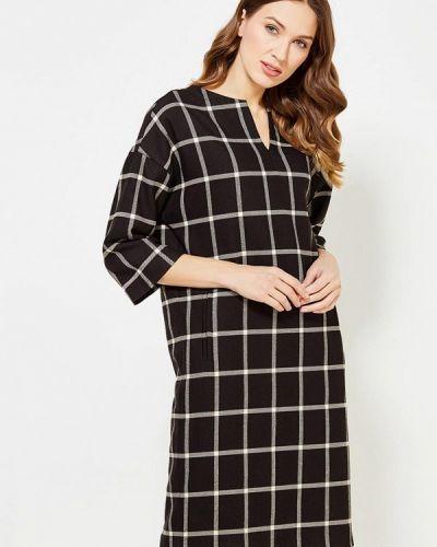 Платье осеннее черное Parole By Victoria Andreyanova