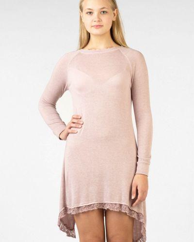 Платье розовое осеннее Intrico