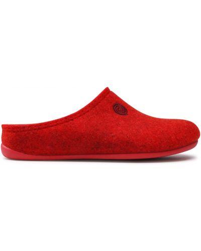 Тапочки - красные Dr. Brinkmann