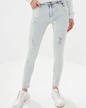 Зауженные джинсы - голубые Urban Surface