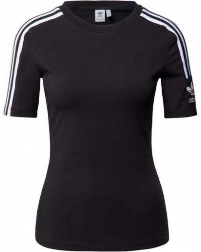 Czarna t-shirt bawełniana Adidas Originals