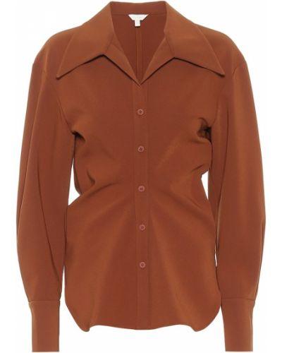 Классическая коричневая классическая рубашка Low Classic
