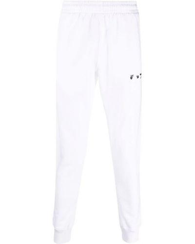 Joggery - białe Off-white