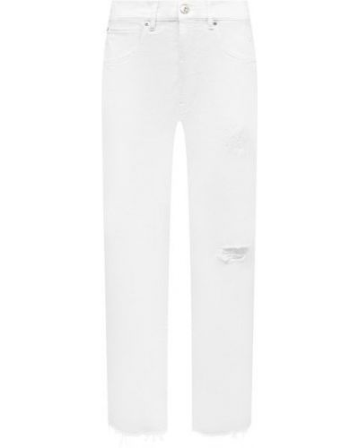 Хлопковые джинсы - белые 3x1