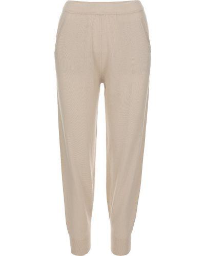 Beżowe spodnie Allude