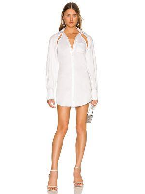 Трикотажное платье - белое H:ours