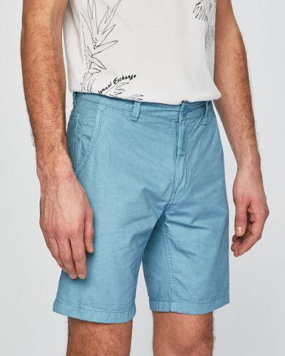 Шорты с карманами синий Blend