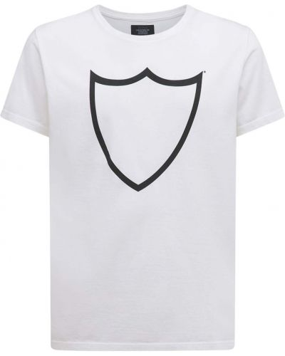 Biała t-shirt bawełniana Htc Los Angeles