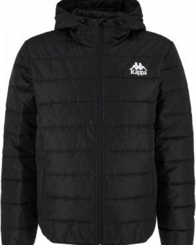 Черная куртка на молнии Kappa