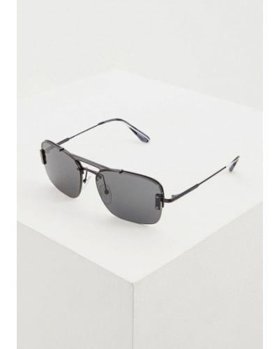 Солнцезащитные очки черные итальянский Prada
