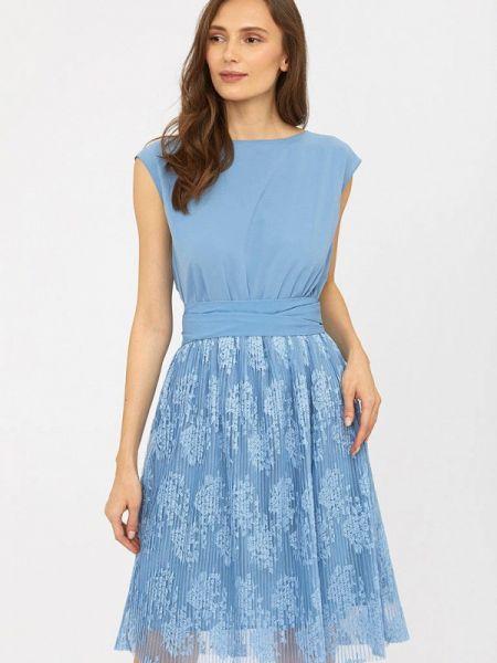Платье прямое весеннее Calista