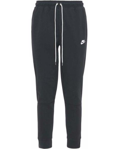 Ze sznurkiem do ściągania czarny joggery z kieszeniami Nike