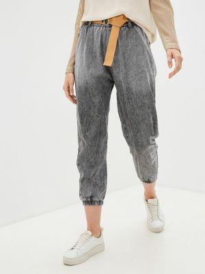 Широкие джинсы - серые Grafinia