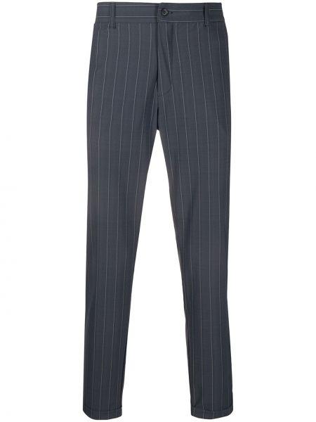 Spodnie w paski z paskiem Hydrogen