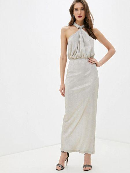 Вечернее платье осеннее бежевое Fashion.love.story