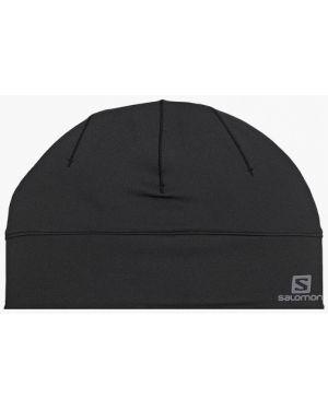 Шапка - черная Salomon