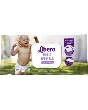Влажные салфетки очищающие Libero