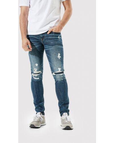 Mom jeans - granatowe American Eagle