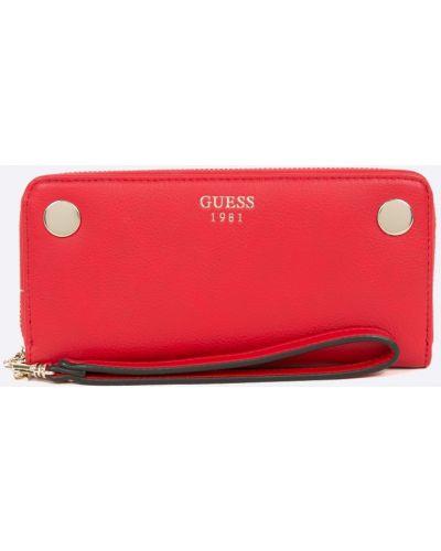 Красный кошелек Guess Jeans