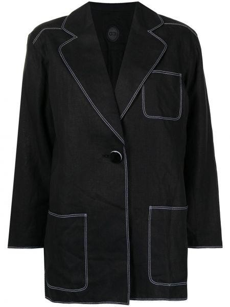 Пиджак длинный - черный Christian Dior
