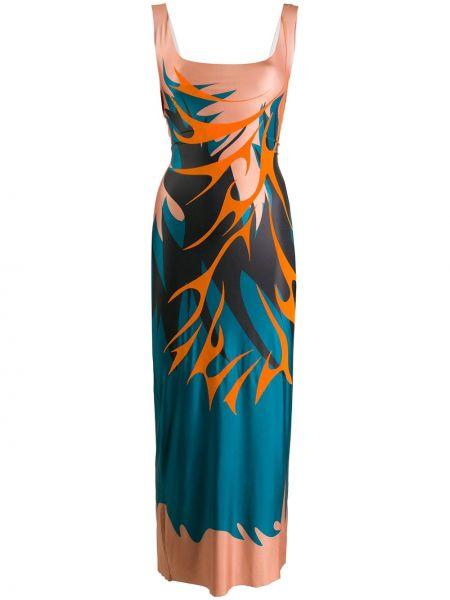 Платье миди платье-комбинация с абстрактным принтом Maisie Wilen