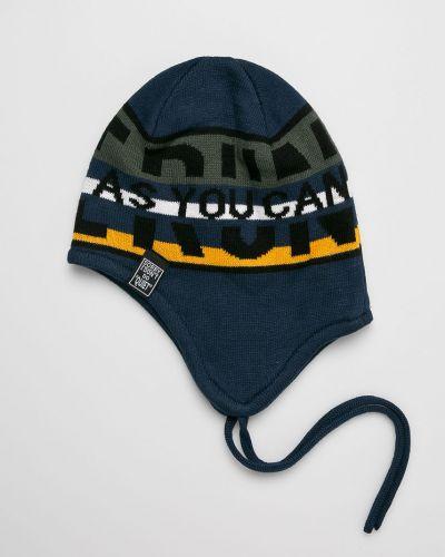 Зимняя шапка облегающий синяя Name It