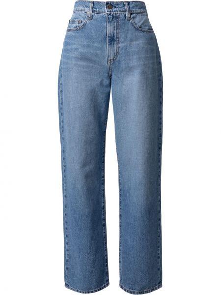 Джинсовые синие прямые джинсы классические Nobody Denim