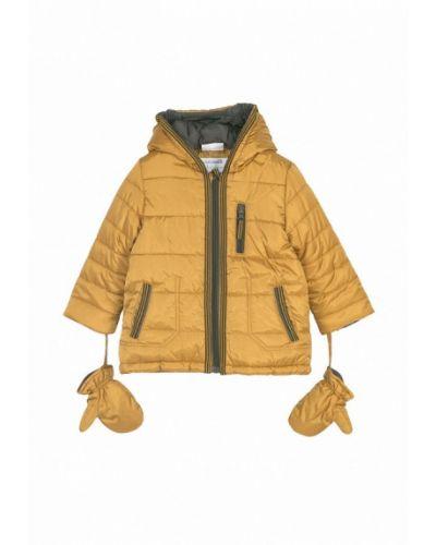 Желтая куртка теплая Coccodrillo