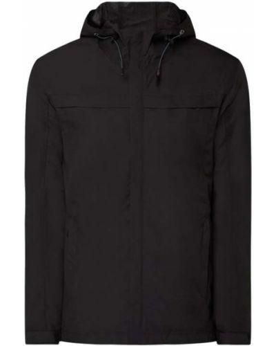 Czarna kurtka z kapturem na rzepy Icepeak
