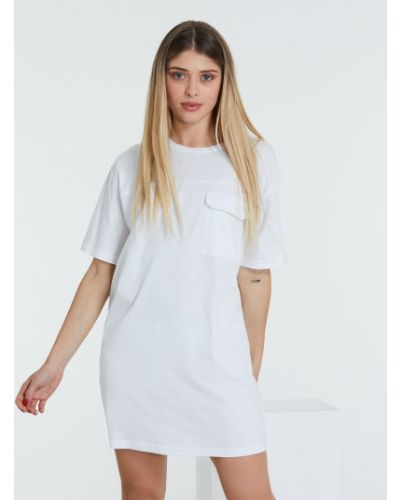 Белое платье Piazza Italia