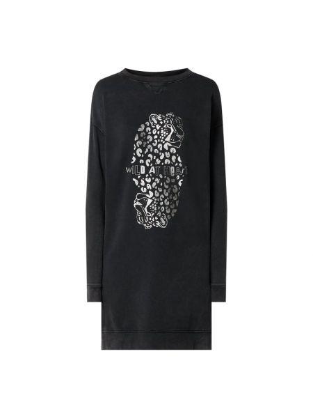 Sukienka rozkloszowana dzianinowa z printem Catwalk Junkie
