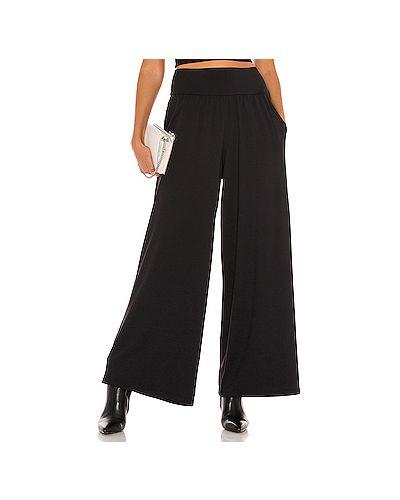 Нейлоновые черные брюки на резинке Susana Monaco