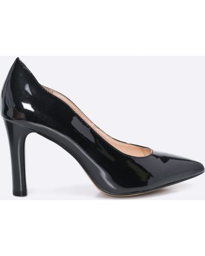 Черные брюки льняные Caprice