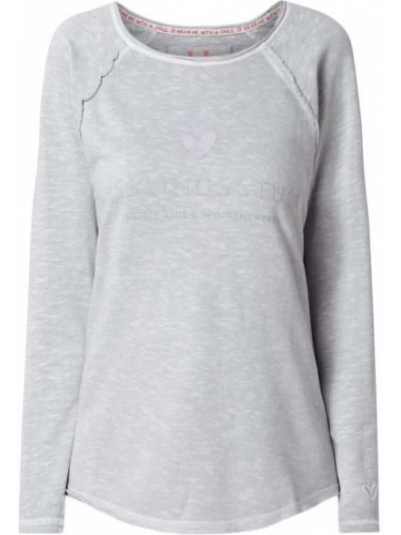 Bluza z nadrukiem z printem Lieblingsstück