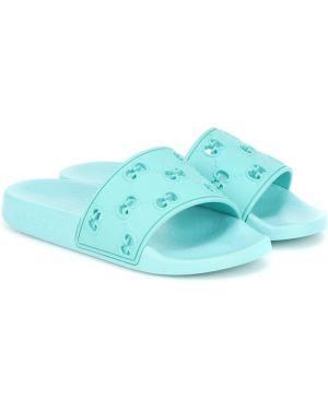 Sandały niebieski lato Gucci Kids
