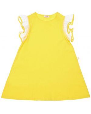 Sukienka z rękawem z tiulu Il Gufo