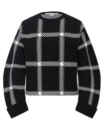 Трикотажный белый пуловер Stella Mccartney