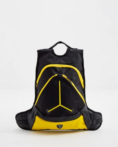Городской черный рюкзак Automobili Lamborghini