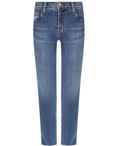 Укороченные джинсы синие J Brand