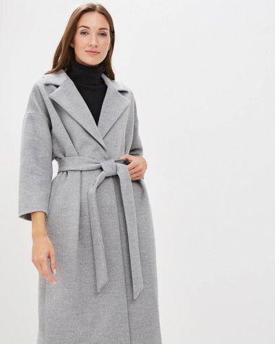 Пальто демисезонное серое Ruxara