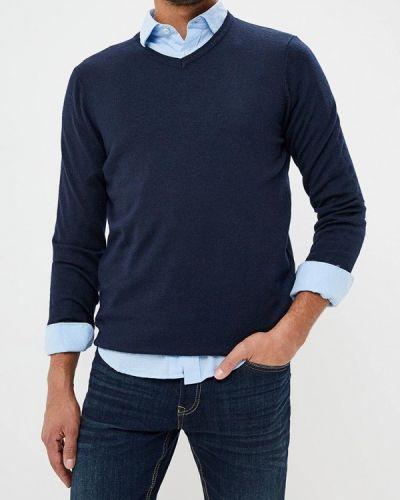 Синий пуловер Springfield