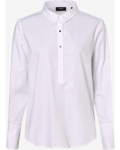 Brokatowa bluzka - biała Joop!