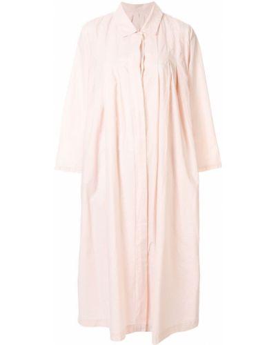 Свободное классическое платье мини на пуговицах свободного кроя Casey Casey