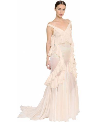 Платье на бретелях на молнии Francesco Scognamiglio